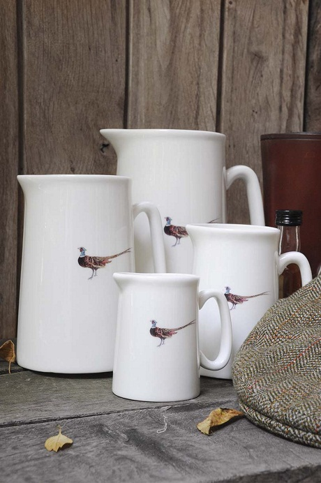 Game Birds by Sophie Allport Pheasant Jug Lifestyle Low Res 1