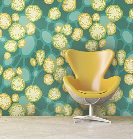 Interiors by Element - Coral Atoll Wallpaper