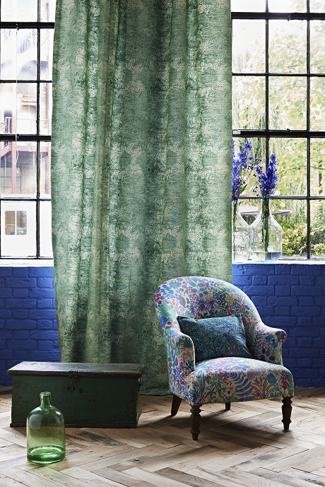 Liberty Art Fabrics-Interiors.  The Nesfield Collection 1
