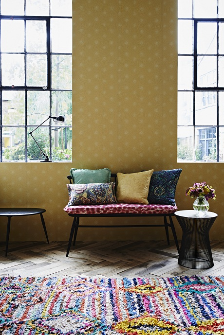 Liberty Art Fabrics-Interiors.  The Nesfield Collection shot 2