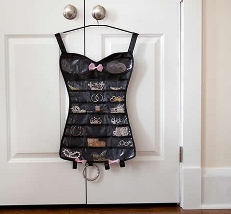 Little Black Dress Jewellery Organiser from A Place for Everything