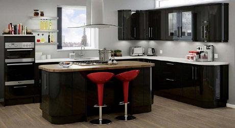 Magnet Kitchens   Studio Noir   Modern