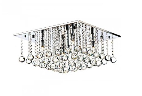 Mail Order lighting - Dar Lighting Abacus 5 light medium flush ceiling fitting