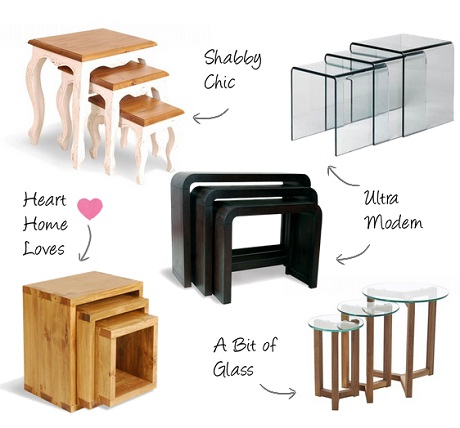 Nest of Tables from FADS