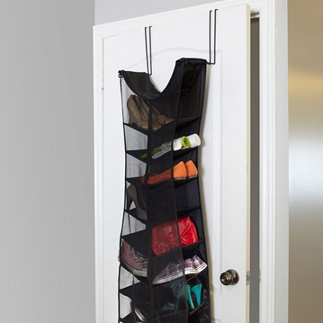 Over Door Little Black Dress Shoe Organiser from A Place for Everything