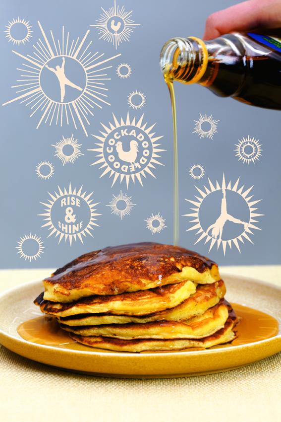Leon Saturday Pancakes