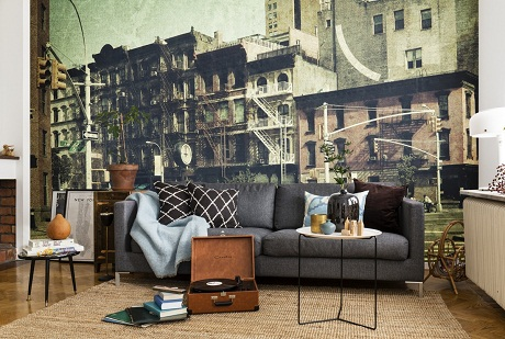 Photowall - Vintage Cities - New York