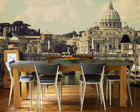 Photowall - Vintage Cities - Rome