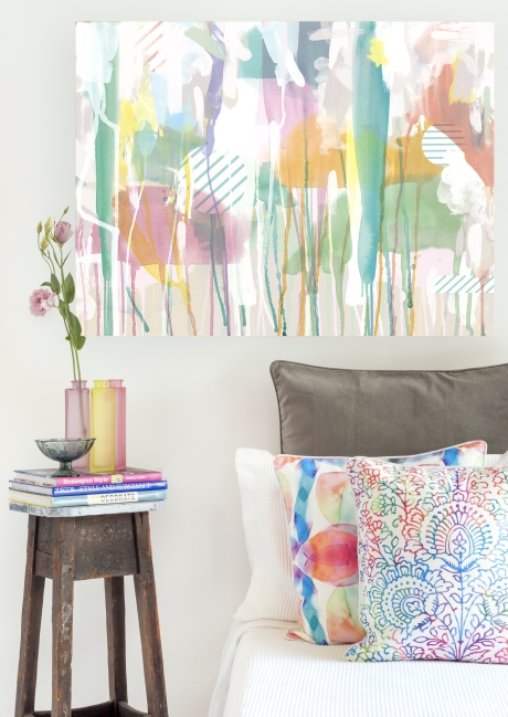 Painterly Interior Trend