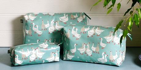 emily birmingham geese washbags