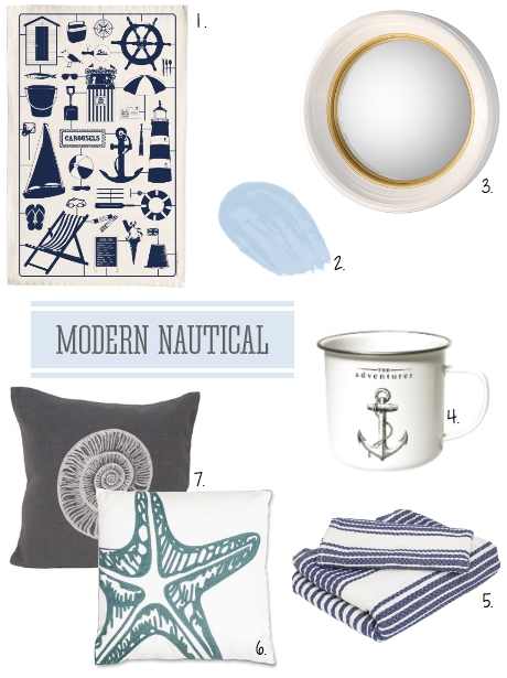 Modern Nautical Interiors Ideas
