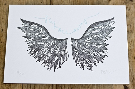 Fly Me Away print