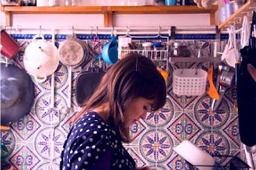 Patterned Little Paris Kitchen Tiles