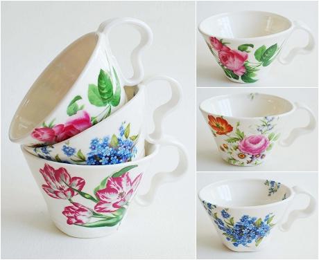 Porcelain Cups - Hanne Rysgaard