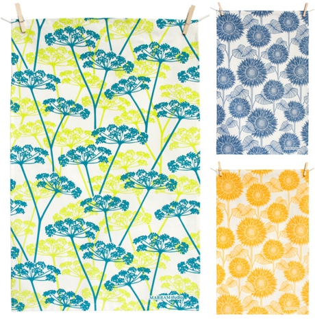 Tea Towels by Marram Studio