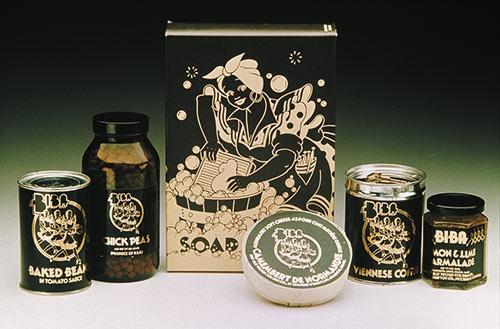 Biba food hall products