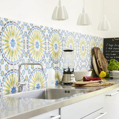 Modern Patterned Kitchen Tiles