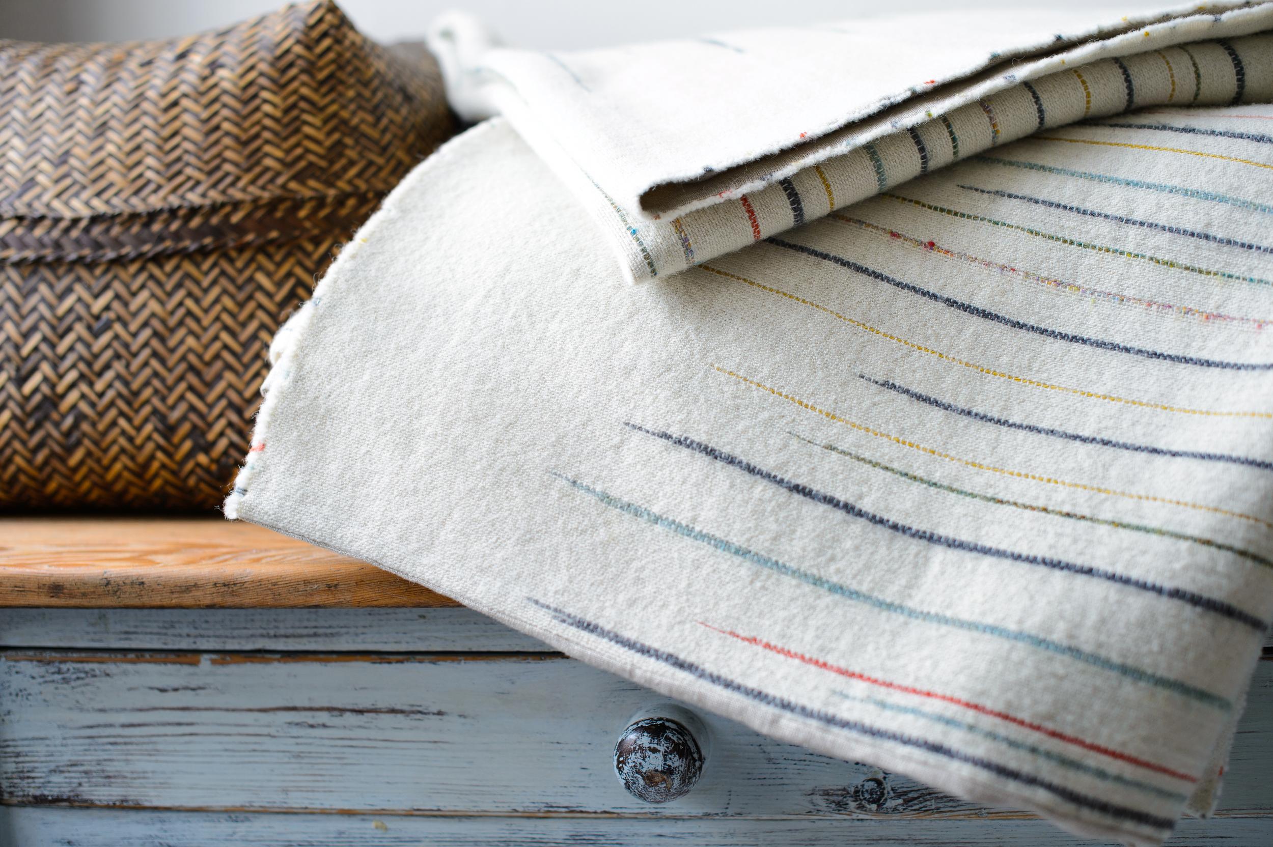 7.Chalkney Throw Detail_Laura Fletcher Textiles
