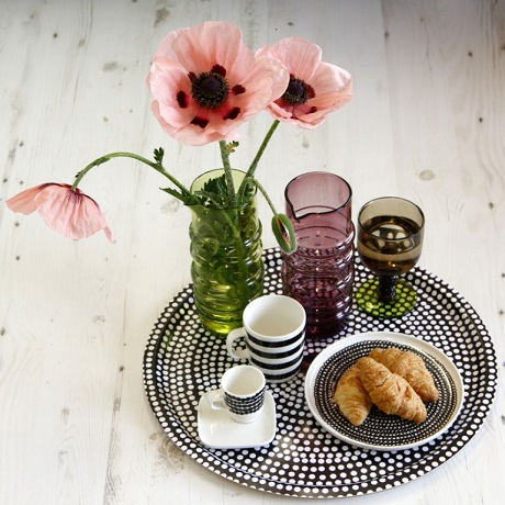 Amara - Marimekko breakfast in bed