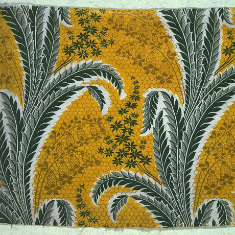 Antique furnishing fabric from V&A