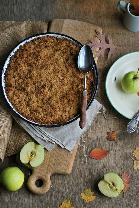 Apple Crumble via Heart Home magazine [1]