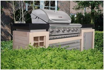 Stylish Outdoor Kitchens By Luxius Heart Home