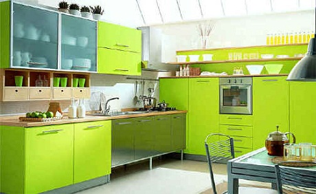 In The Kitchen Natural Earthy Shades Of Green Work Well Remind Us Food Helping To Be Inspired Cook Contrast This With Zingy