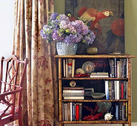 Bennison Fabrics - Dragonflower fabric