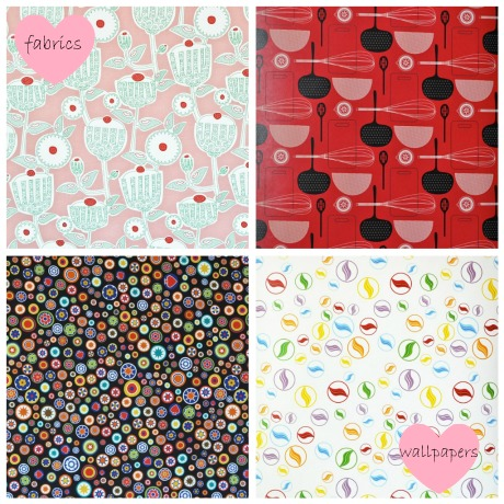 Beyond the Fridge Fabrics and Wallpapers