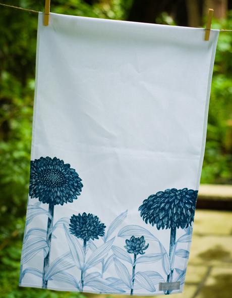 Blue-Floral-Tea-Towel