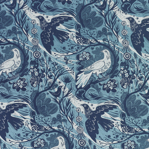 Dove Flight by Mark Hearld