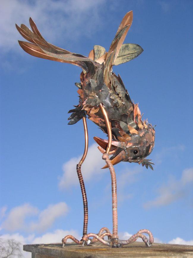 Bolton Rooks sculpture by Michael Kusz