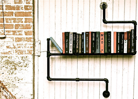 Bookshelf industrial 2