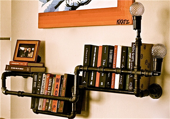 Bookshelf industrial 4