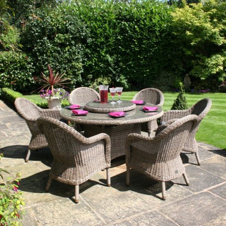 This Style Of Furniture Gives A Much More Loungy Look And Feel To A  Terrace. The Cushions Can Be Supplied In Waterproof Fabric So Although  Youu0027re Unlikely ...