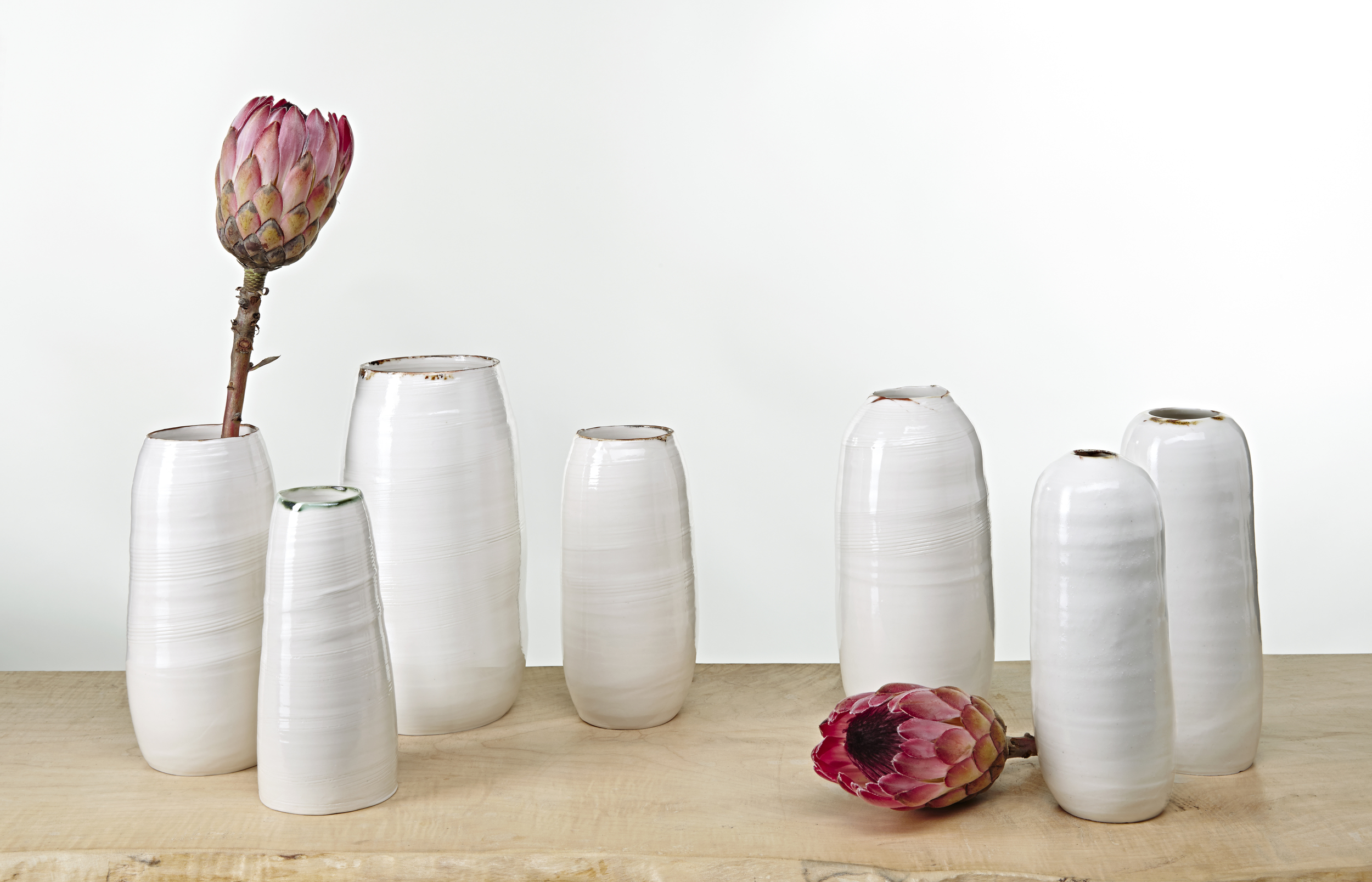 Bronze lustre vase collection KA Ceramics