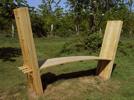 Cambered Bench by Andrew Trotman