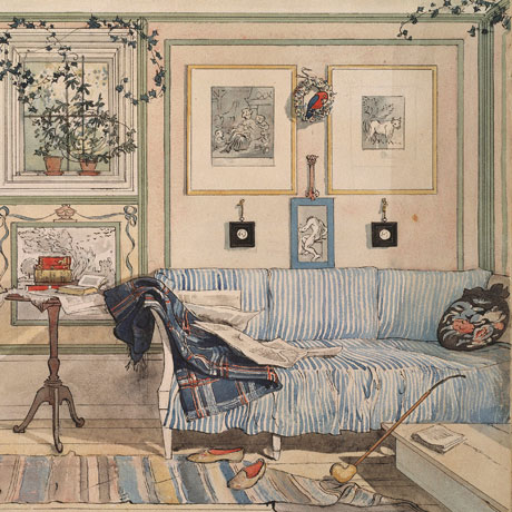 Detail from Lathörnet (Cosy Corner) by Karl Larsson, 1894