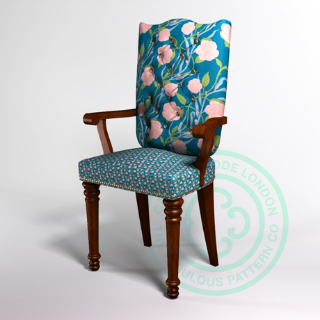 Caxton Rhode Hero Chair_Rose Coral