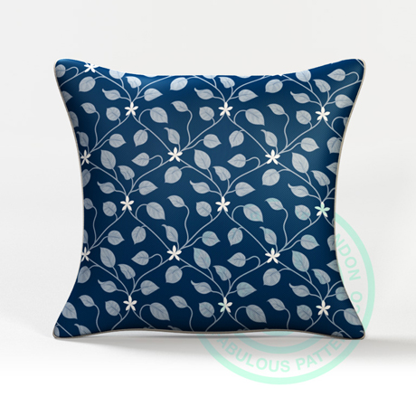 Caxton Rhode Hero_Cushion_Jasmine Blue