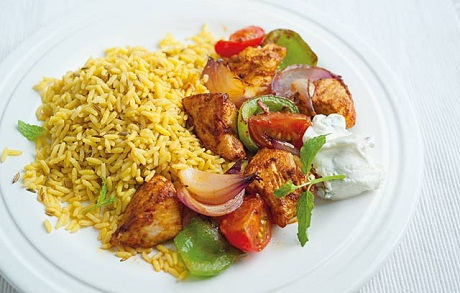Chicken Curry Recipe via Ocado