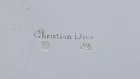 Christian Dior Cigarette Box detail