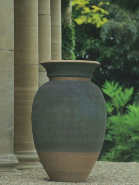 Cotswold blue vase by Philip Simmonds