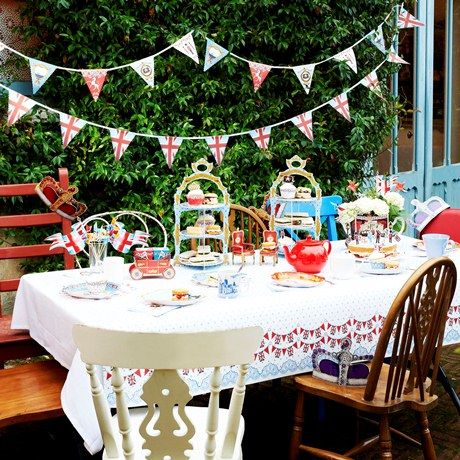 Jubilee Tea Party Ideas From The Contemporary Home