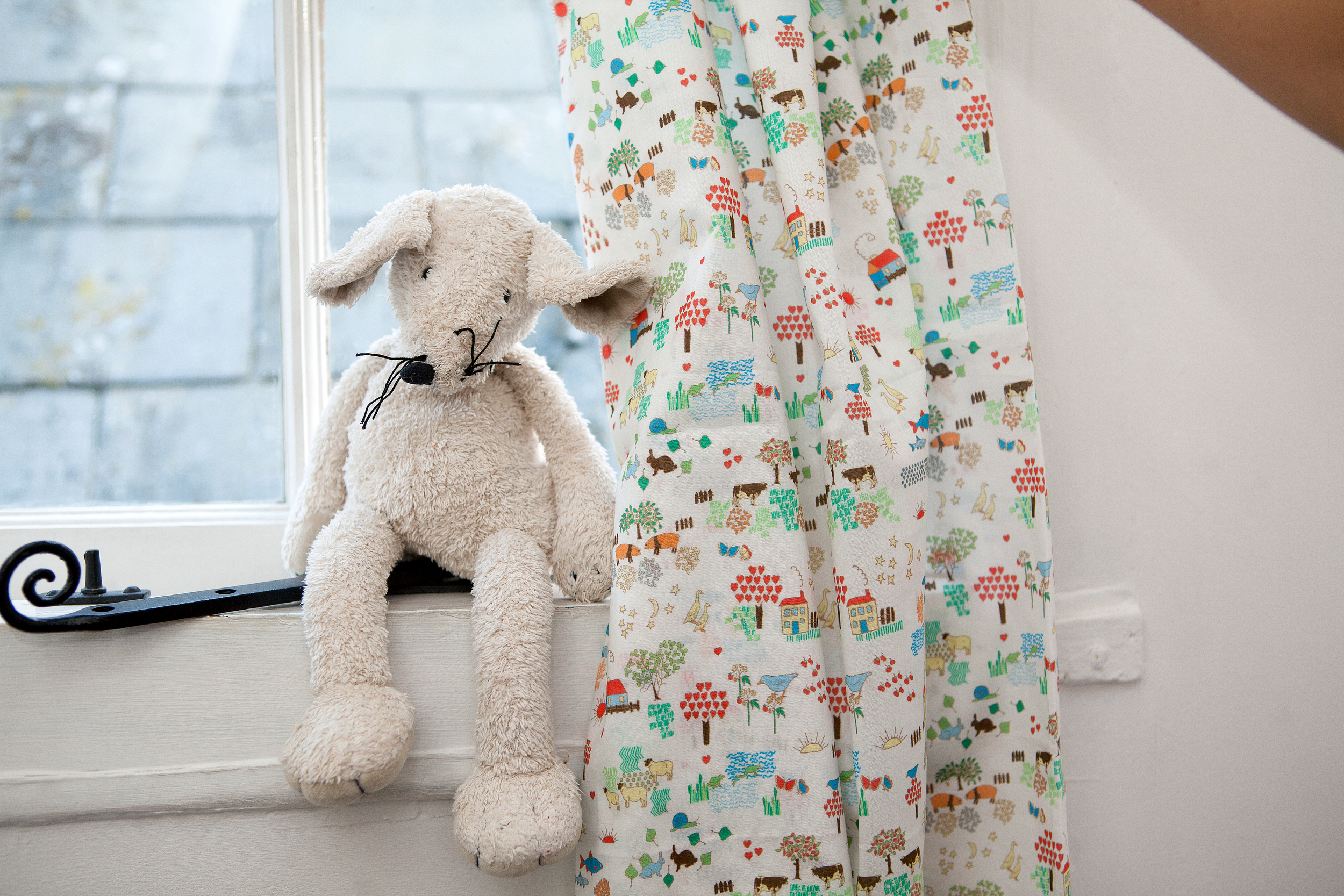 Emily Burningham Little World Cotton Lawn