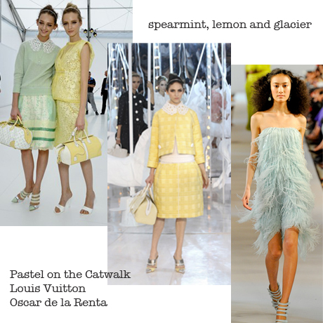 Fashion trend to home trend_pastel