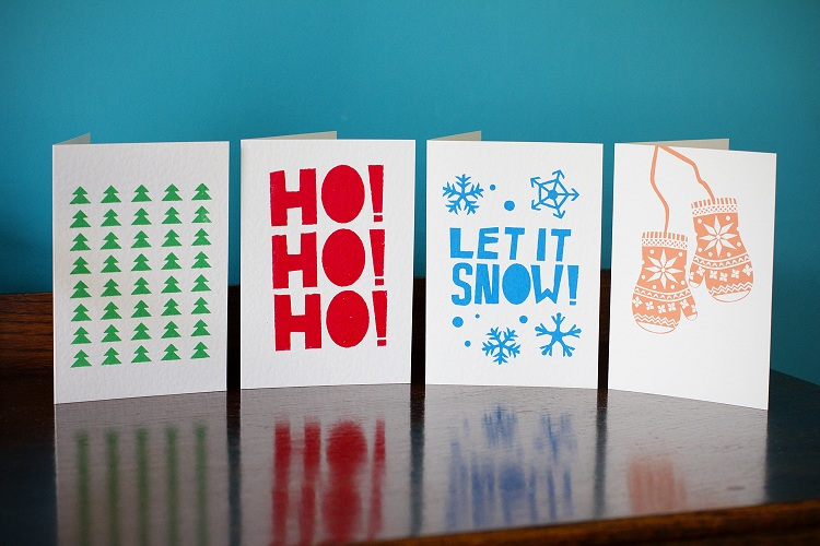 Finest Imaginary Xmas Cards