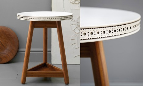 Brogue side table