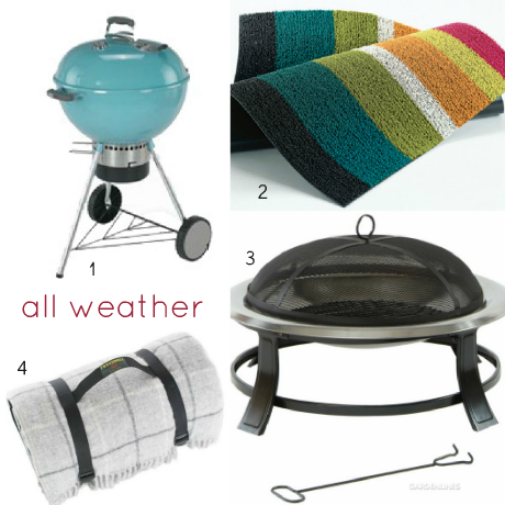 Garden Essentials for all weathers