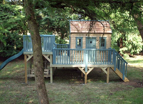 Outdoor playhouses by The Playhouse Company Heart Home